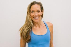 yoga teacher Adrienne Smith