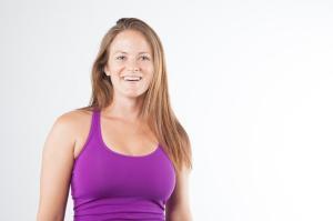 yoga teacher Katie Clark